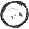 SRAM hydraulische leiding Rem binnenkabel- & Behuizing Guide RSC/RS/R, 2000 mm zwart